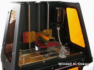 A typical 3D printer: a B9Creator.