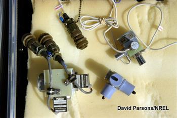 A selection of accelerometers.
