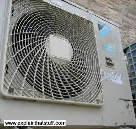 Daikin air conditioner: front view
