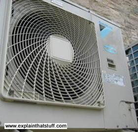 Daikin air conditioner: front view