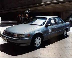 ford sable aluminum car