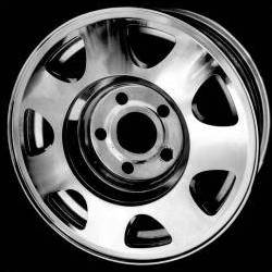 Aluminum car wheel plated with nickel in a process that saves electricity, natural gas, and water.