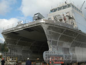 aluminum ship