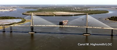 Arthur Ravenel Jr. Bridge in Charleston S.C.