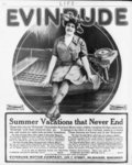 LIFE magazine advertisement for Evinrude outboards dating from April 23, 1914.