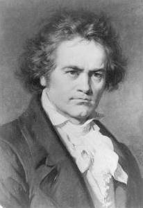 Beethoven portrait.