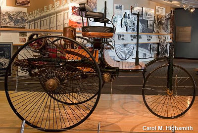 Karl Benz first car replica