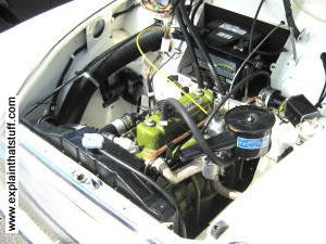 Morris Minor 4 cylinder engine