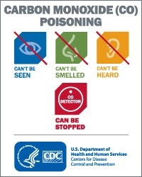 CDC campaign carbon monoxide can be stopped.