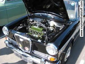 Inside A Clic Car Engine