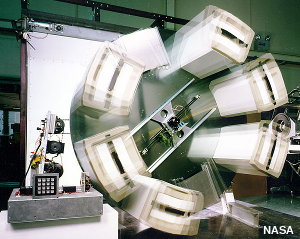 NASA space station centrifuge