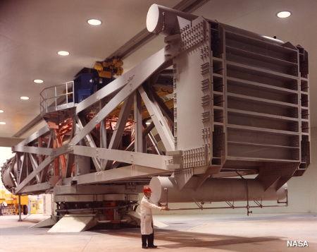 Large NASA centrifuge