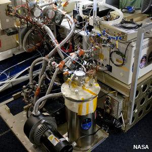 Photo: NASA chemical ionization mass spectrometer.