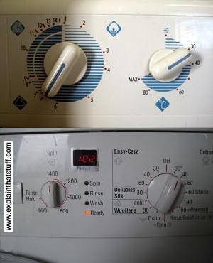 clothes washer electronic programmer