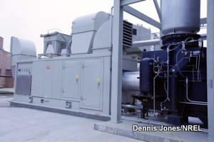 Combined heat and power CHP cogeneration plant