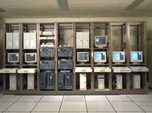 Testing Internet networking at NASA Glenn.