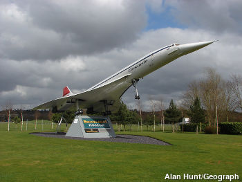 Concorde coming in to land