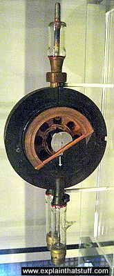 CV64 magnetron developed in Birmingham 1942.