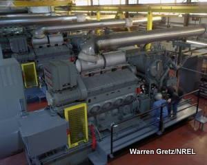 Diesel electricity generator, San Clemente Island