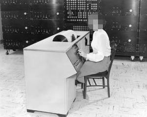 Photo of Differential Analyzer c.1951 by NASA