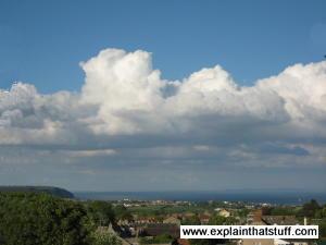 Clouds over Dorset, England