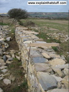 How to build dry-stone walls - Explain that Stuff