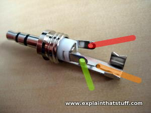 how to repair earbud headphones a step by step guide photo of replacement 3 5mm earbud stereo plug showing wiring connections