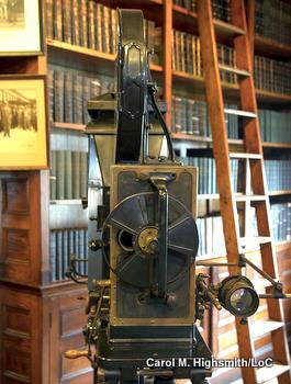 Thomas Edison's original movie camera by Carol Highsmith