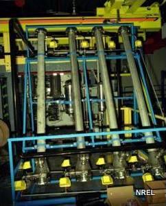 Electrostatic smoke precipitator equipment. Photo by Dave Parsons, US DOE NREL