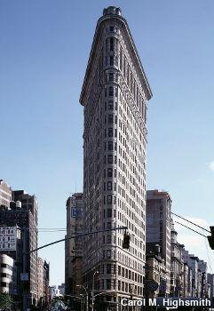 Flatiron building, New York City. Photo by Carol M. Highsmith.