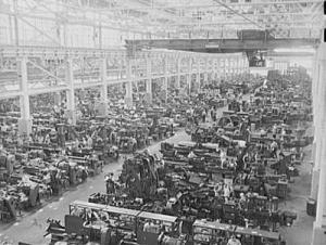Ford's River Rouge plant. Library of Congress