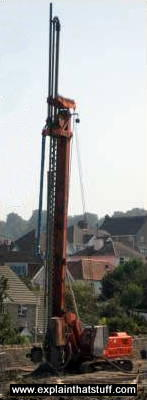 A very large foundation rock drill