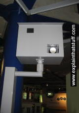 Gatso radar speed camera