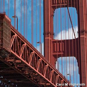 Golden Gate Bridge detail by Carol H. Highsmith.