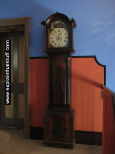 Grandfather clock pendulum