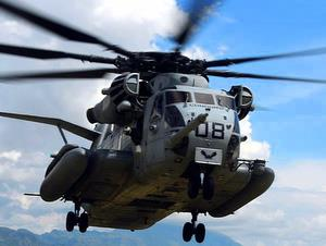 Sikorsky Super Stallion helicopter CH-53E