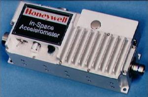 A space rocket accelerometer made by Honeywell for NASA.