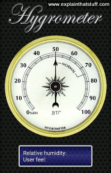 hygrometers work measuring humidity explain  stuff