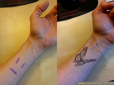 How marker-based tracking powers the Inkhunter tattoo app.