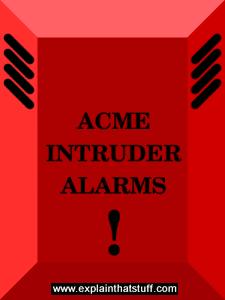 Basic intruder alarm case