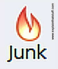 Junk email icon.