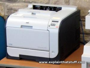 Hewlett Packard Laser printer