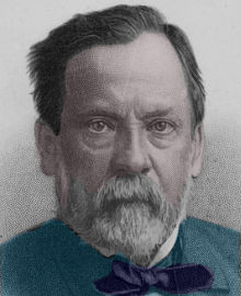 Louis Pasteur: Engraving courtesy of Library of Congress