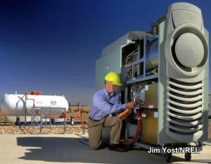 A micro CHP power turbine