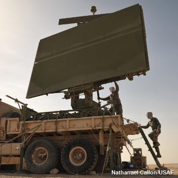 Mobile radar detector truck