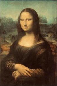 Frowning Mona Lisa