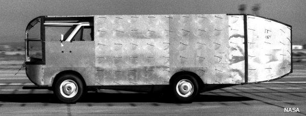 Experimental NASA aerodynamic truck from 1981.