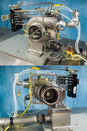 NASA Oil-Free Turbocharger