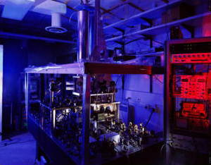 NIST-F1 United States atomic clock