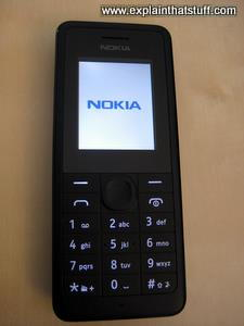 Nokia 106 entry-level cellphone